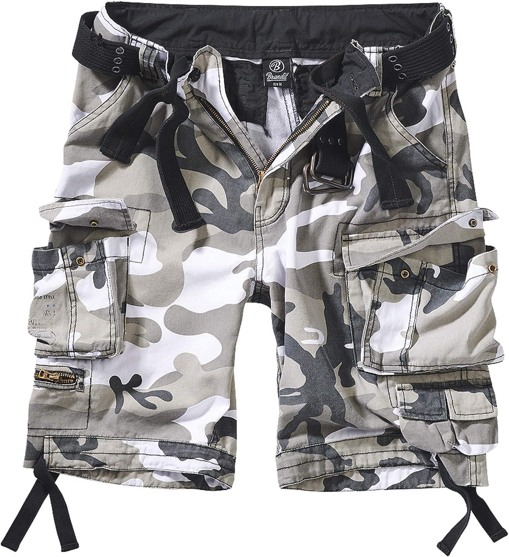 Brandit Savage Vintage Shorts Pantalones Cortos para Hombre
