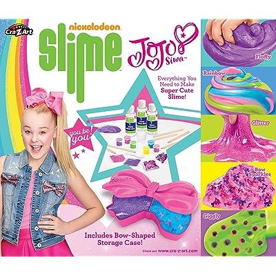 Cra-Z-Art Nickelodeon JoJo Siwa DIY Slime Kit, Brown, 6 x 6: Toys & Games