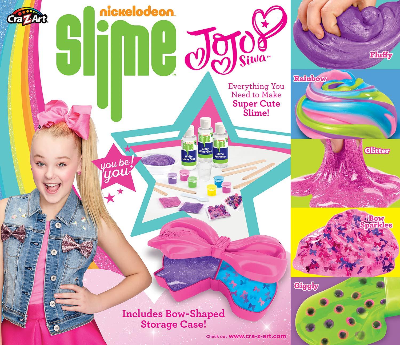 Cra-Z-Art Nickelodeon JoJo Siwa DIY Slime Kit