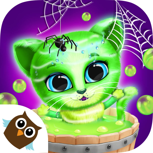 Kiki & Fifi Halloween Salon - Scary Pet Makeover -