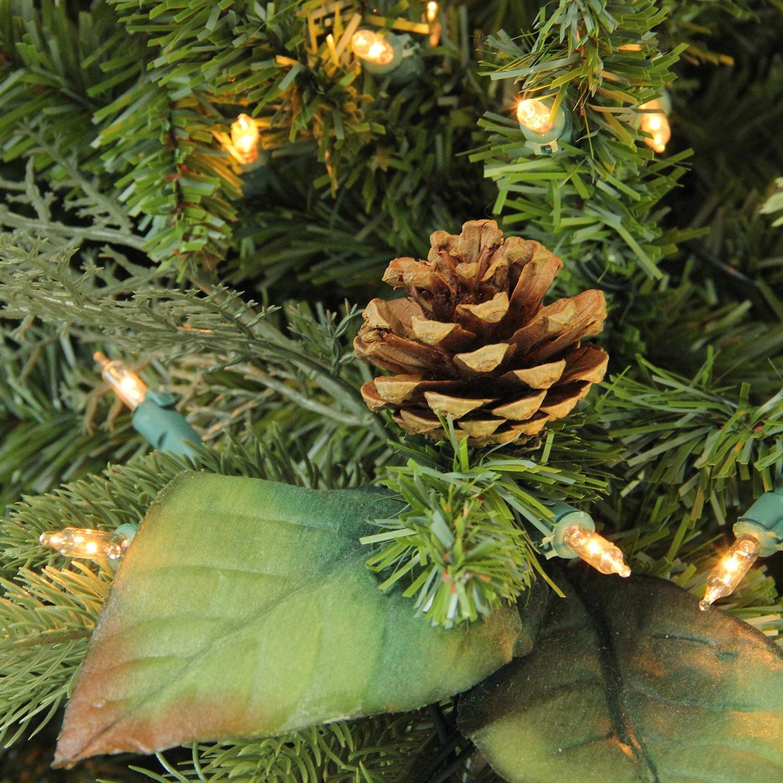 amazoncom gki bethlehem lighting pre lit. Amazon.com: GKI Bethlehem Lighting Pre-Lit Green River Spruce Medium Artificial Christmas Tree With Clear Lights, 7.5\u0027: Home \u0026 Kitchen Amazoncom Gki Pre Lit I
