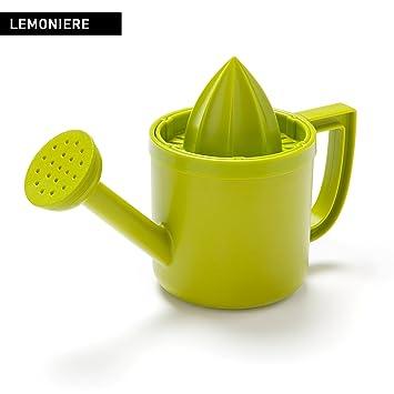 lemoniere por diseño Peleg: Original riego can-shaped exprimidor, verde exprimidor de plástico
