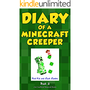 Minecraft Books: Diary of a Minecraft Creeper Book 3: Attack of the Barking Spider! (An Unofficial Minecraft Book)