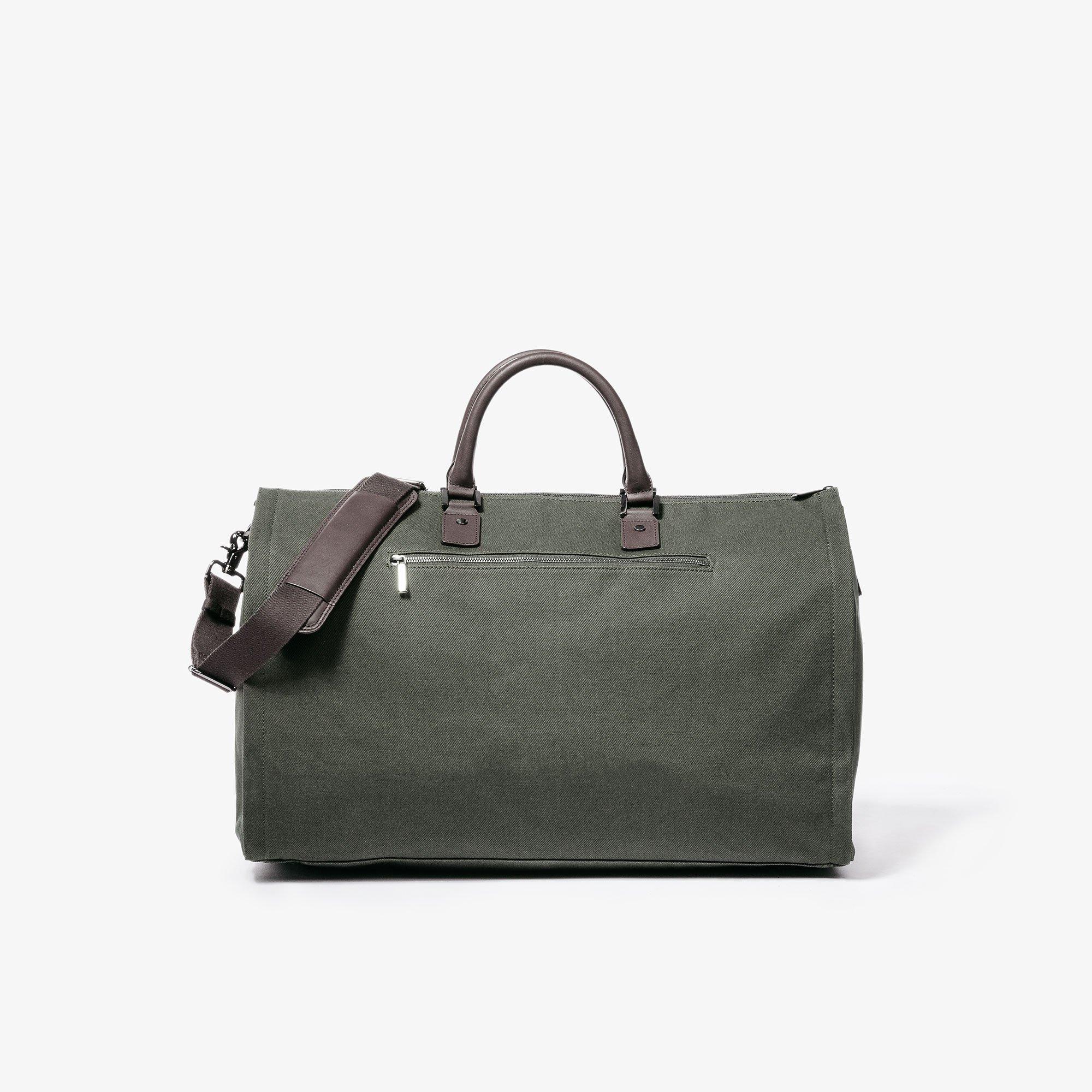 Hook & Albert Garment Weekender Bag (Olive) by HOOK & ALBERT (Image #5)