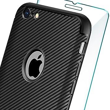 583dd8c4106 AROYI Funda iPhone 6 plus / 6s plus + Cristal Templado, iPhone 6 plus / 6s  plus Carcasa & 1 Pack ...