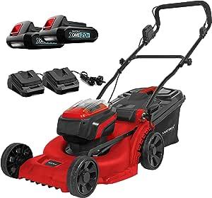 Matrix 2x20V X-One Cordless Lawn Mower Kit