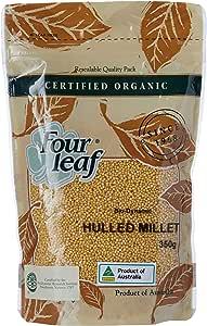 Four Leaf Milling Organic Hulled Millet, 350 g