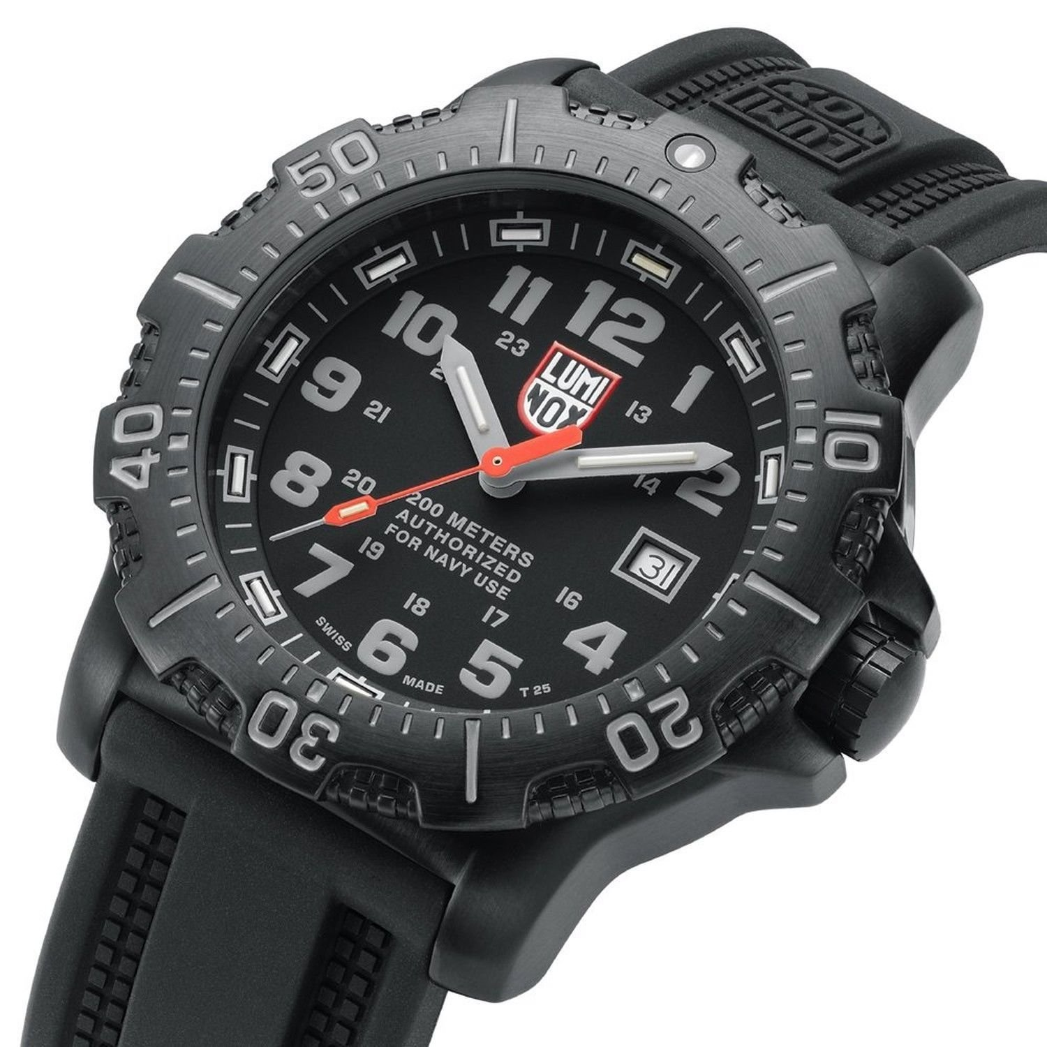 Men's Luminox 'Sea ‑ Anu' Polyurethane Strap Watch, 45Mm