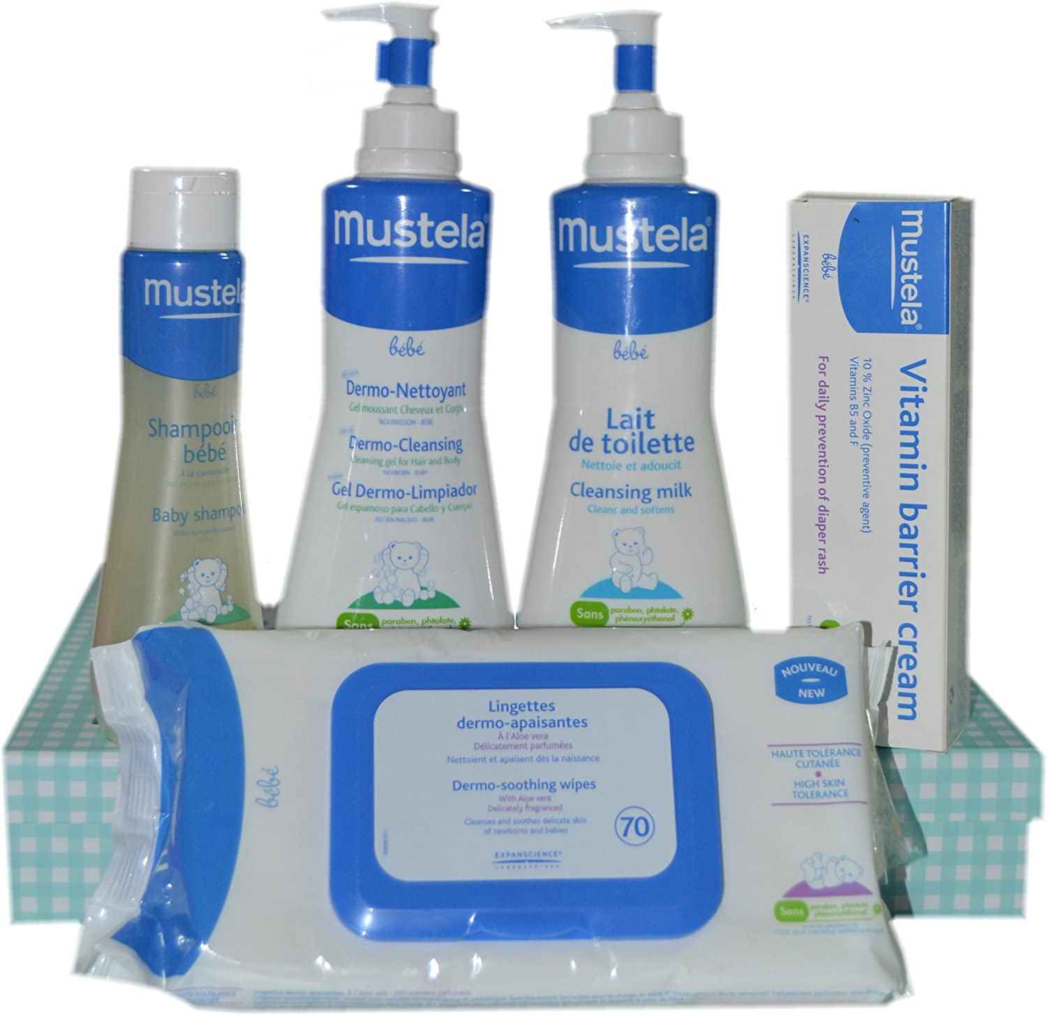 Pack Mustela 5 uds 500ml: Amazon.es: Bebé
