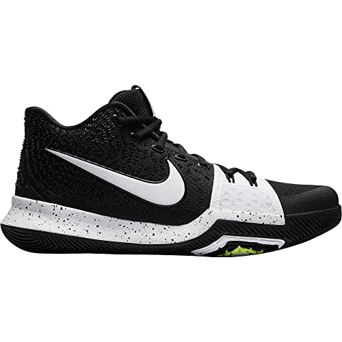 new concept 799e8 b4655 Nike Men's Kyrie 3 Basketball Shoes (11.5 M US, Black/White)