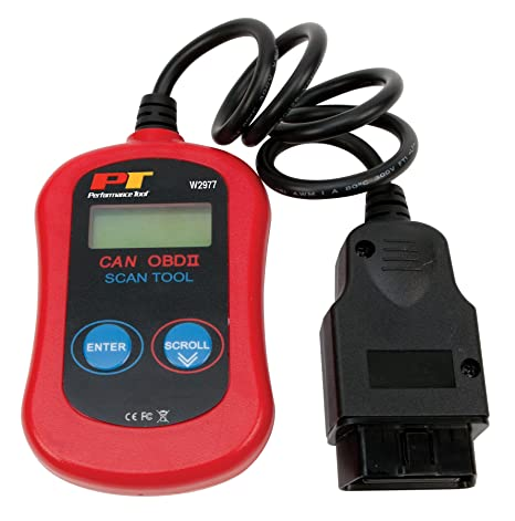 Performance Tool W2977 CAN OBD II Scanner Tool for Check Engine Light &  Diagnostics, Direct Scan and Read Out