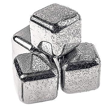 Daffodil - Cubitos de hielo de acero inoxidable, acero ...