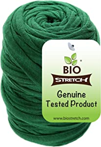 Biostretch, Soft Stretchy Garden Twine Environmentally Smart Non Twist Wire Plant Ties (Bio Roll x 1)