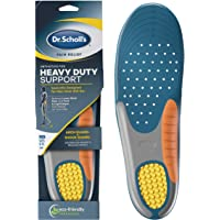 Dr. Scholl's Heavy Duty Support Pain Relief Orthotics, Designed for Men over 200lbs with Technology to Distribute Weight…