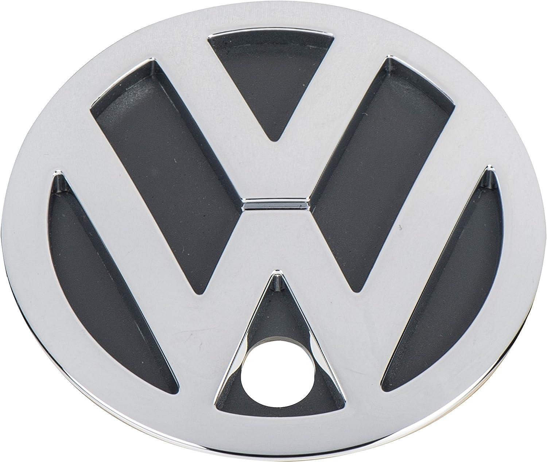 Original VW Rear Trunk Boot Badge Emblem Chrome 1J5853601C 739