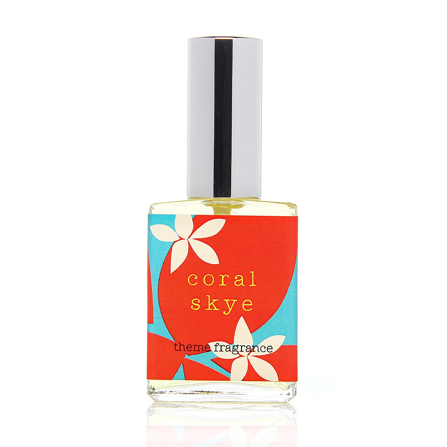 Theme Fragrance Coral Skye Passionfruit perfume for women. Tropical hawaii floral beach women's fragrance. 15 ml