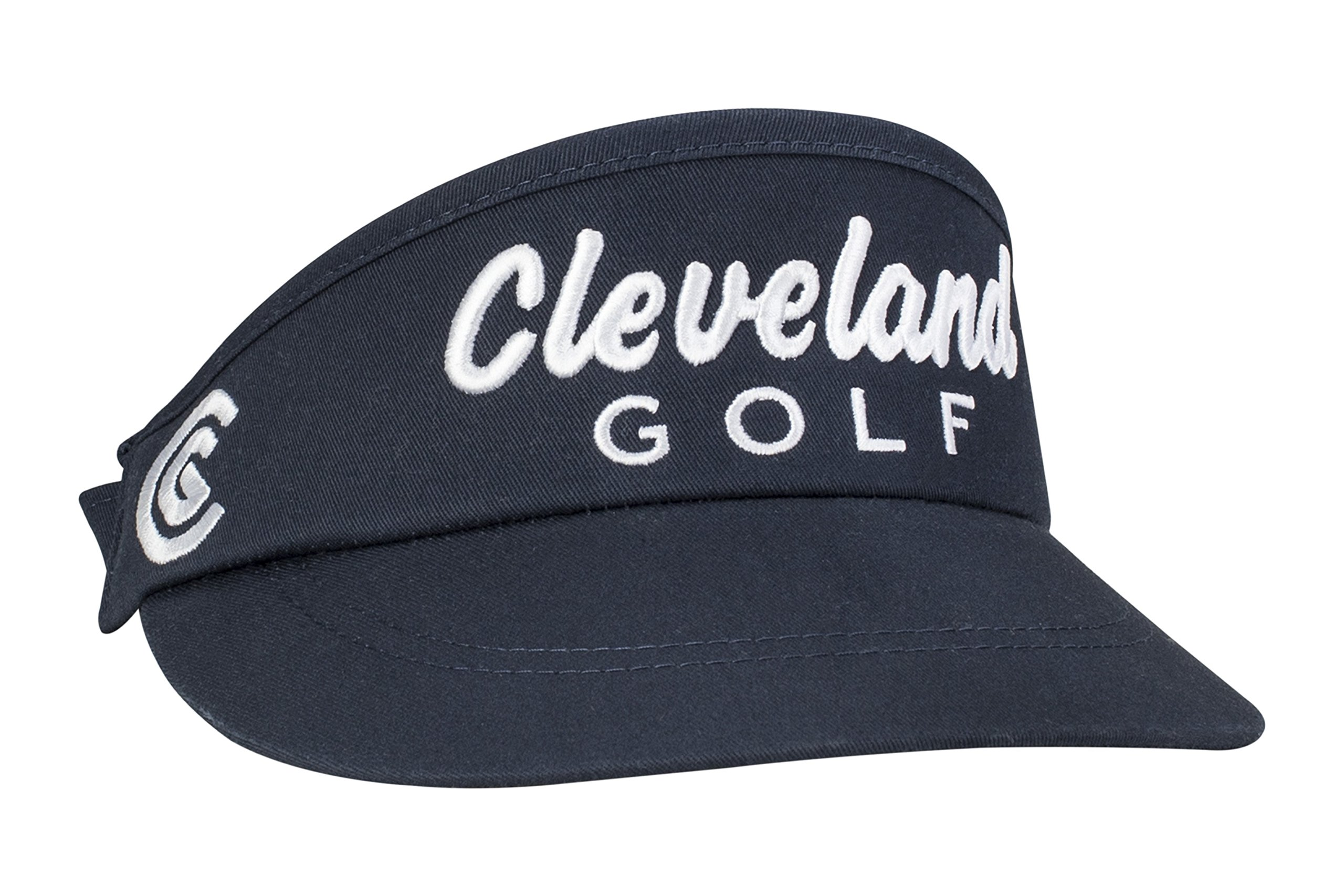Cleveland Golf Mens Performance Visor, Navy, One Size Fits All