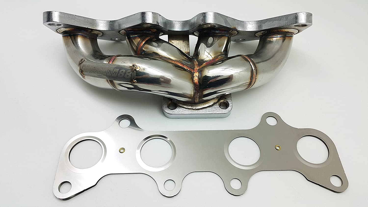 fits for Toyota Starlet GT Glanza P82 EP91 CT9 Turbo 4E-FTE Autobahn88 Stainless Steel Exhaust Dump Turbo Outlet