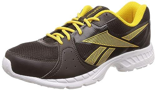 52ddc20ce Reebok Men s Top Speed Dark Root Primal Yellow Running Shoes-8 UK ...