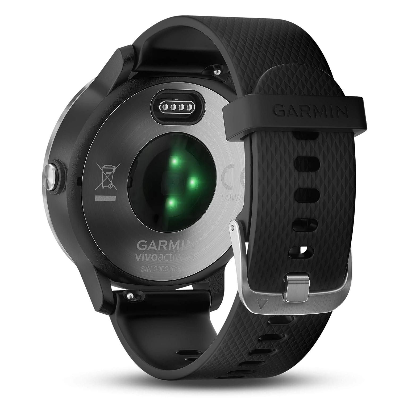 Garmin Vivoactive 3 GPS Smartwatch Black (Black Stainless)