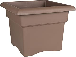 "product image for Bloem Veranda Deck Box Planter - 14"" - Chocolate"