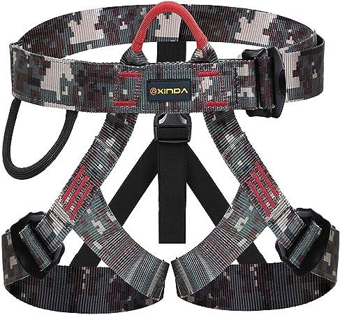 WILDKEN Arnés Seguridad para Escalada Protección de Caída Cintura Cadera Cinturón de Seguridad de Protección Guías de Montaña al Aire Libre Escalada ...