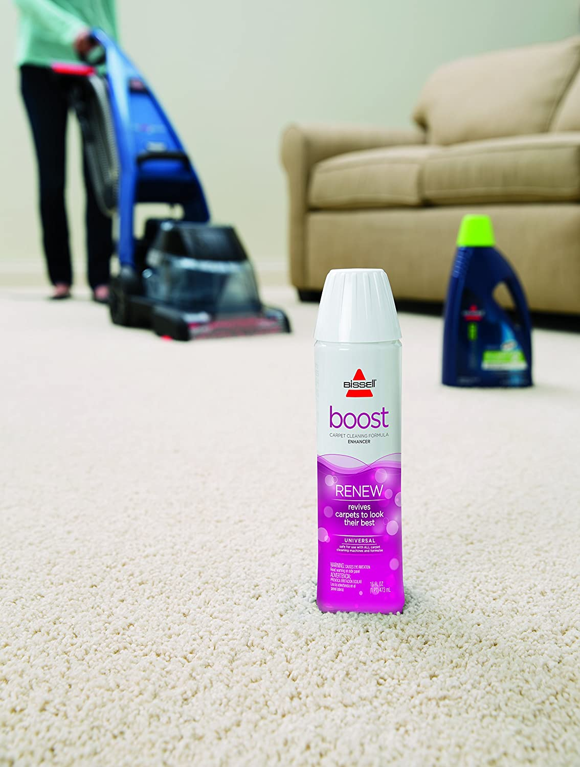 Amazon.com: BISSELL Renew Boost Carpet Cleaning Formula Enhancer: Home & Kitchen