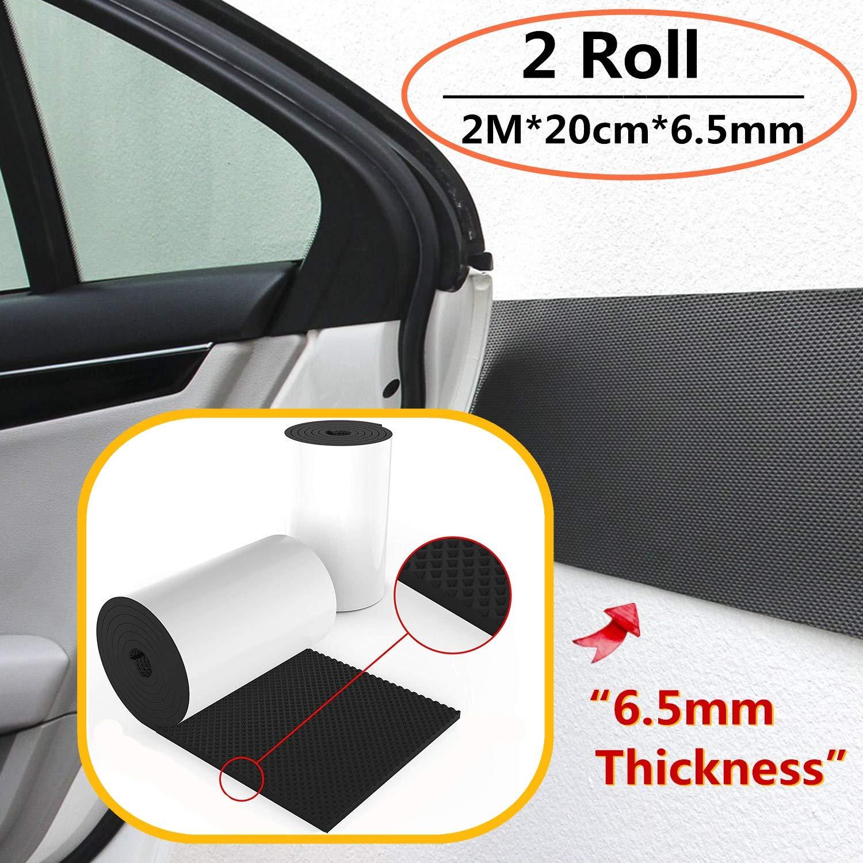 2PACK 2M*20cm*6.5mm Protezione in Schiuma Protezioni per Porte Garage,Protezione per Bordi dell/'Auto Protezione per Le pareti del Garage