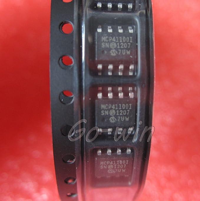 10PCS MCP41100-I//SN IC POT DIGITL 100K 1CH SPI 8SOIC NEW GOOD QUALITY