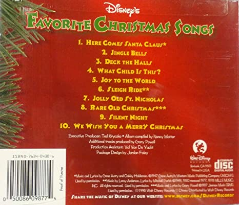 Disney's Favorite Christmas Songs - Amazon.com Music