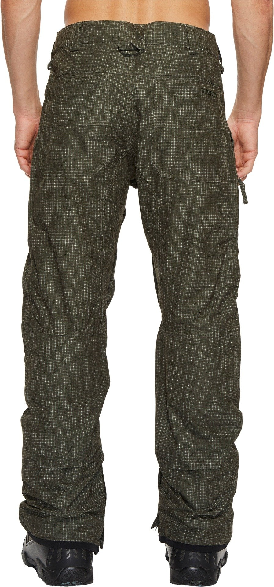 Burton Men's Southside Pant Forest Night Ripstop Texture/Forest Night Small 33