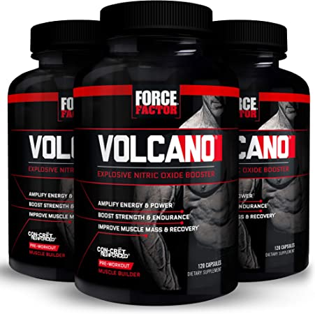 Force Factor Volcano 120ct 3-Pack, 360 Count