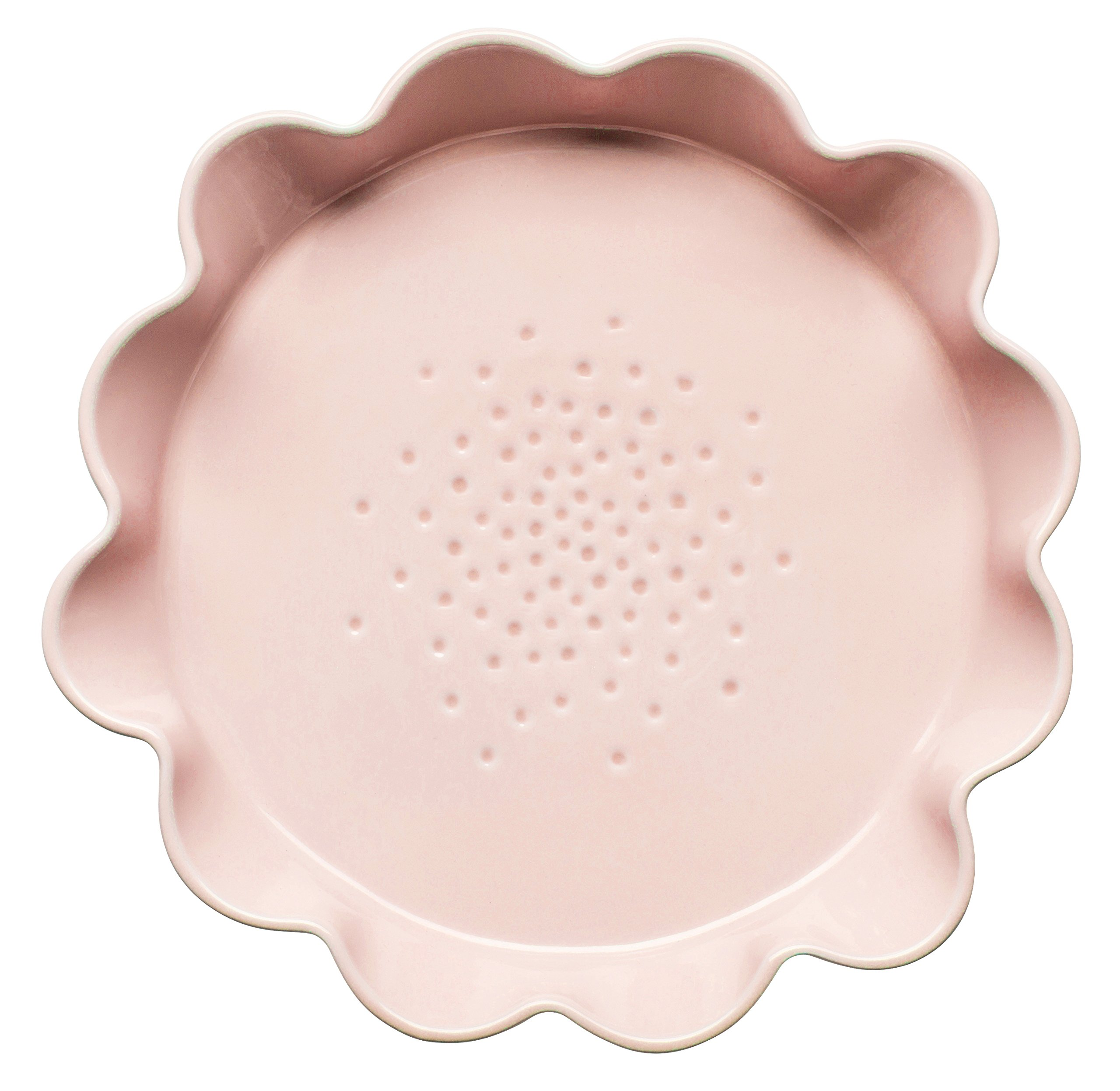 Sagaform 5017311 Piccadilly Collection Pie Dish, Large, Pink
