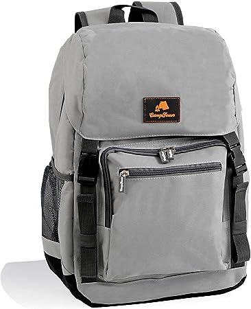 CampFeuer - Mochila Isotérmica I 20 litros I Color Gris I Ligera I Impermeable I Camping I Playa I Actividades al Aire Libre I Unisex