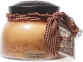 product image for A Cheerful Giver Gigi's Cinnamon Raisin Bread Mama Jar Candle, 22-Ounce