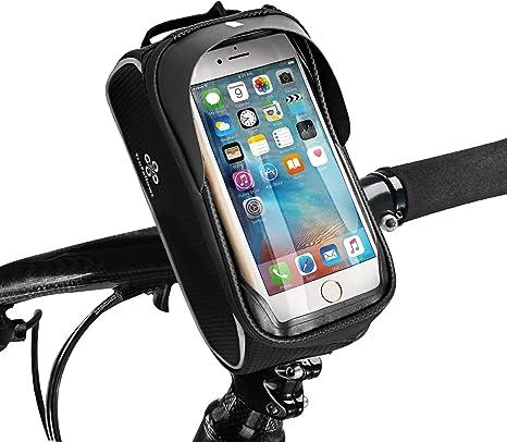 Bolsa para bicicleta TraFellows Premium con soporte para teléfono ...