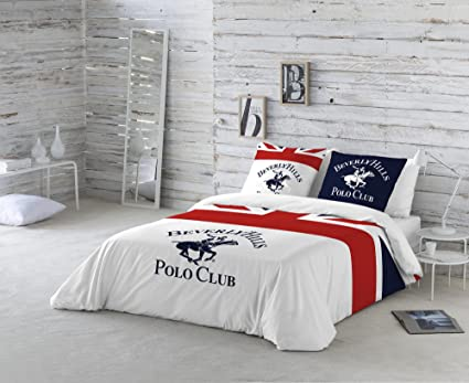 BEVERLY HILLS POLO CLUB Funda nórdica + funda almohada MADISON (Cama 180)