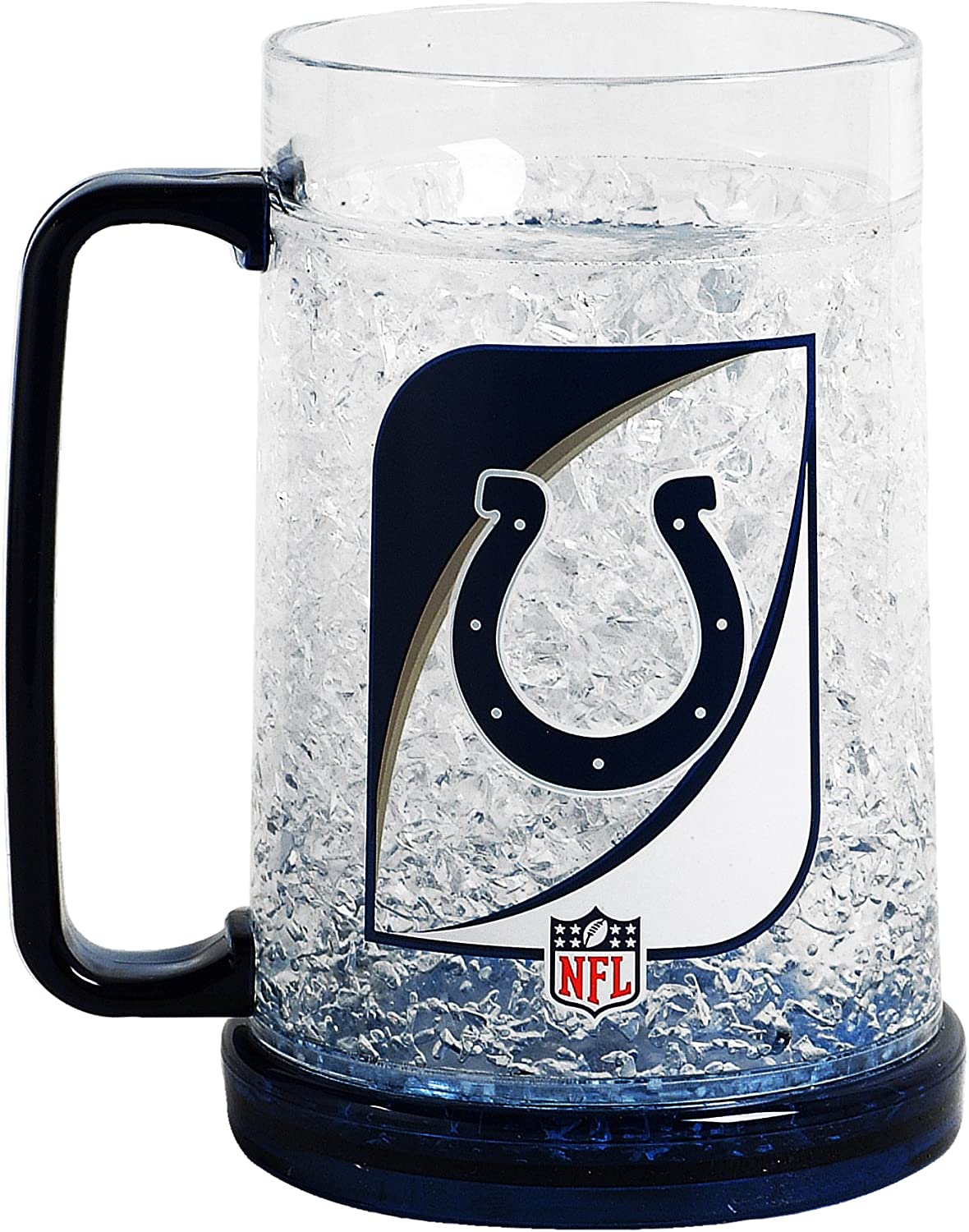 NFL Indianapolis Colts 16-Ounce Crystal Freezer Mug