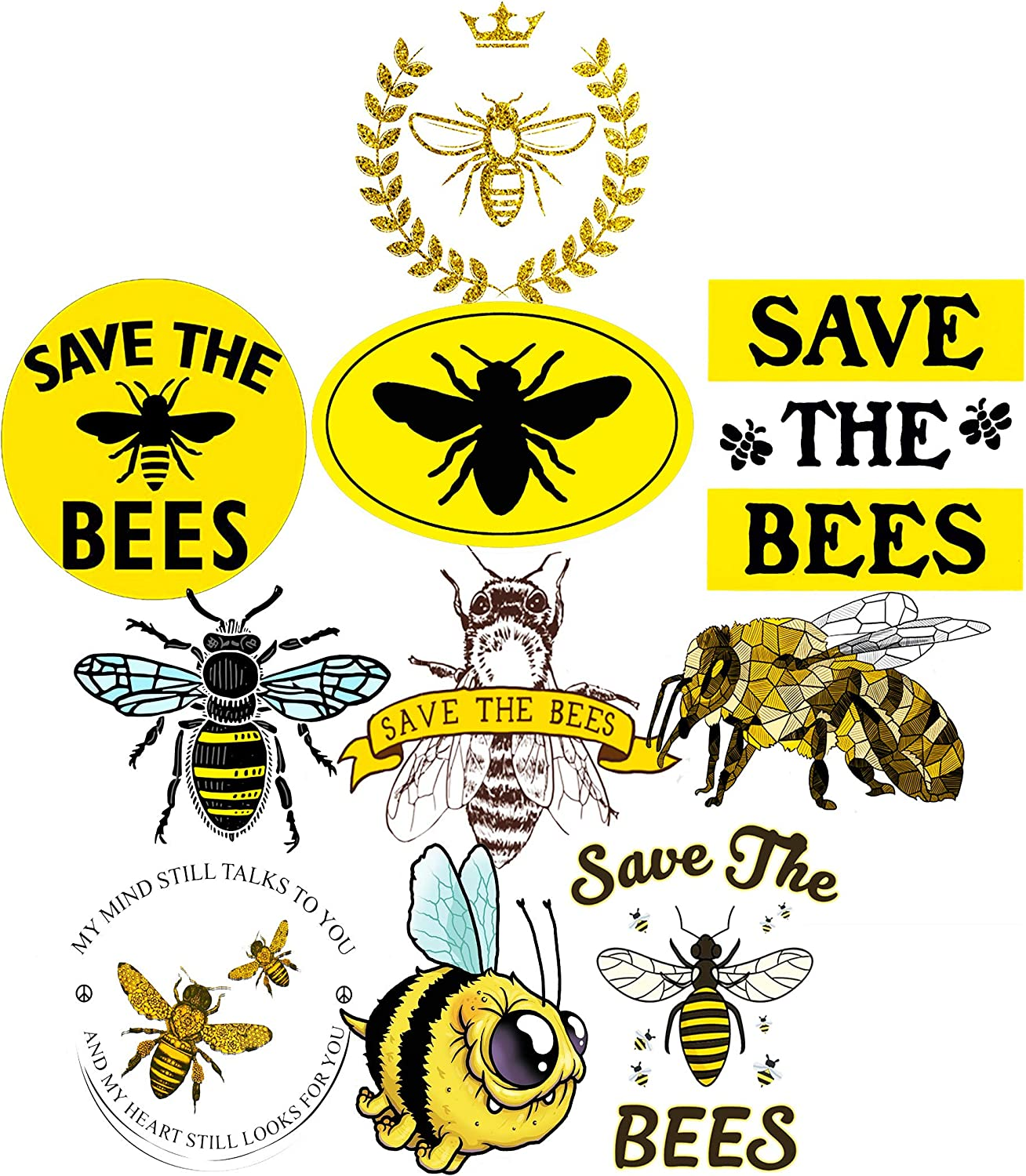 Save The Fcking Bees Tshirt Funny Animals Protect Womens Mens Top