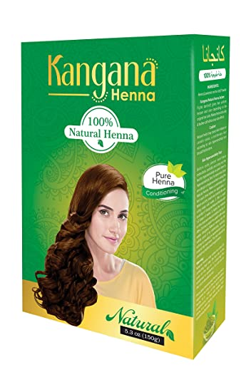 Amazon Com Kangana Henna 100 Natural Henna Powder For Hair Hair