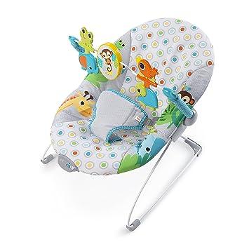 c2c23152dfe1 Bright Starts Monkey Business Bouncer  Amazon.co.uk  Baby