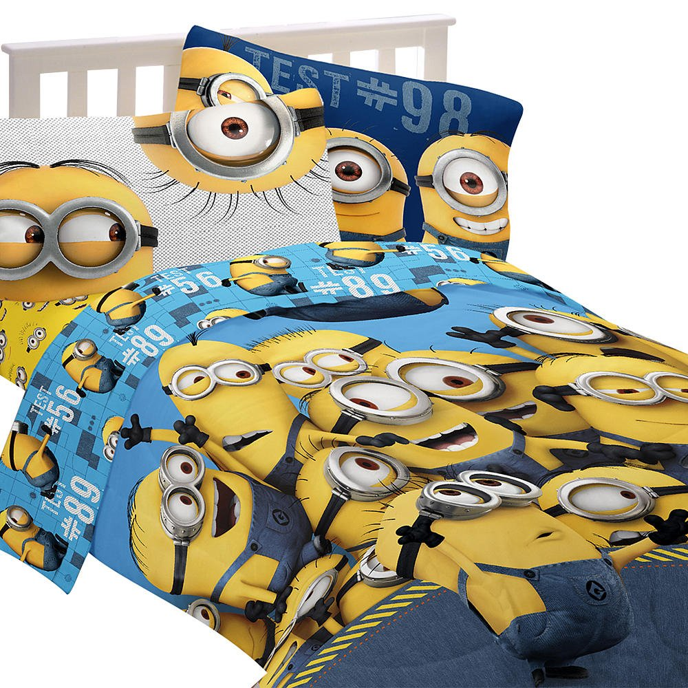 kids cute minion bedroom decor  despicable