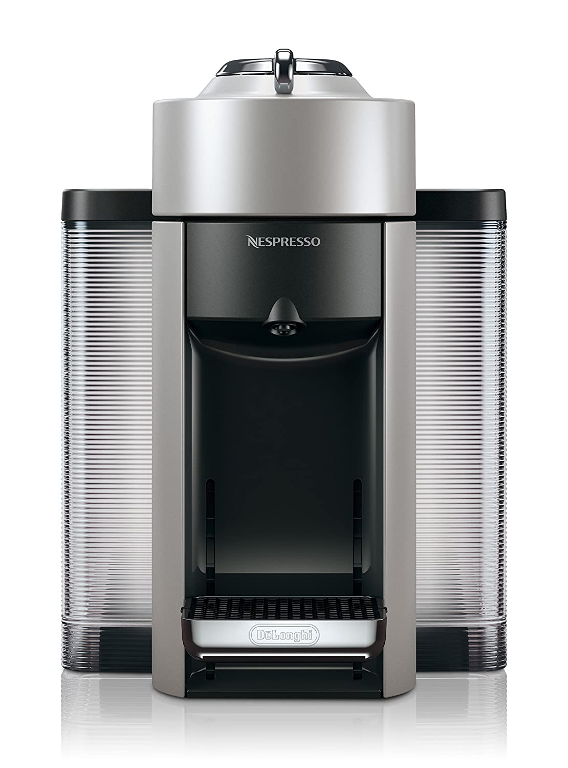 Nespresso Vertuo Coffee and Espresso Machine by De'Longhi, Black ENV135BCA