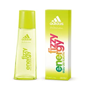 Adidas Fizzy Energy Eau de Toilette Spray for Women, 1.7 Ounce