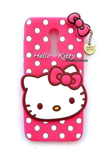 new product f312e 6bf8e Mobiclonics® Cute Hello Kitty Back Case Cover for Xiaomi Redmi Note 5 (2018  Model) - Pink