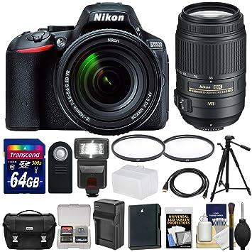 Amazon.com: Nikon D5500 WiFi cuerpo de la cámara SLR digital ...