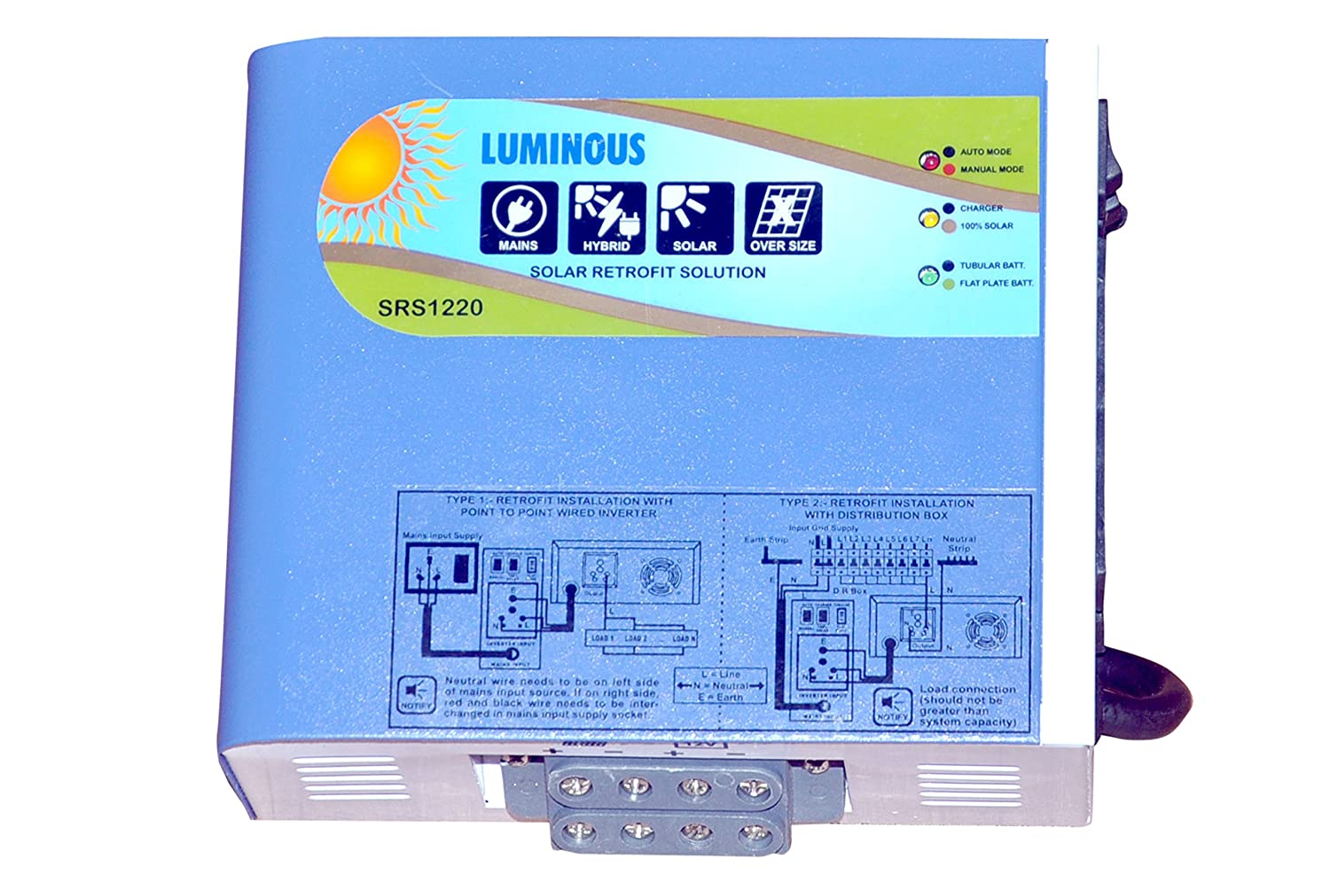 Luminous Solar Retrofit 20 Amp Home Kitchen Ups Circuit Diagram