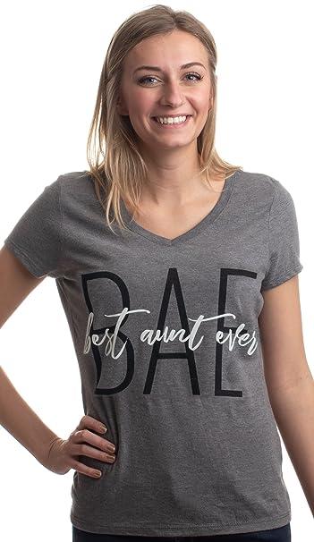 5714702e6 Amazon.com: BAE: Best Aunt Ever | Cute Funny Niece Nephew New Baby V ...