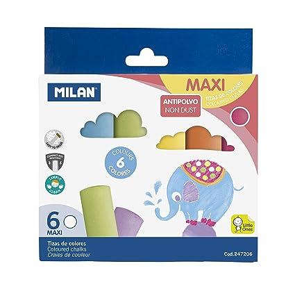 Milan 247206 - Pack de 6 tizas