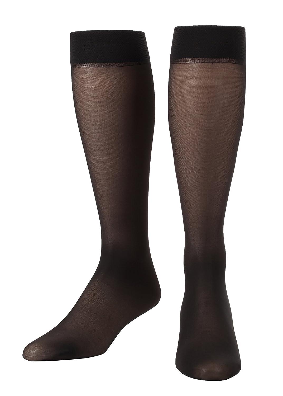 Scholl/'s Women/'s Sheer Moderate Support Socks Sheer Beige Shoe Dr 5.5-7.5